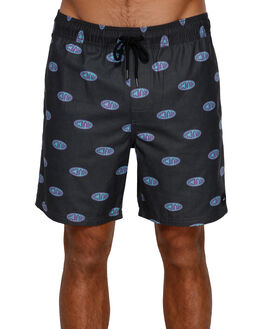 PIRATE BLACK MENS CLOTHING RVCA BOARDSHORTS - RV-R391403-PTK