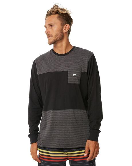 BLACK 2 MENS CLOTHING BILLABONG TEES - 9572177BLK