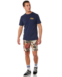 NAVY MENS CLOTHING DEUS EX MACHINA TEES - DMS81709ANVY