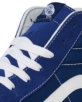 ESTATE BLUE WHITE MENS FOOTWEAR VANS SNEAKERS - SSVNA38GEQ9WBLUM
