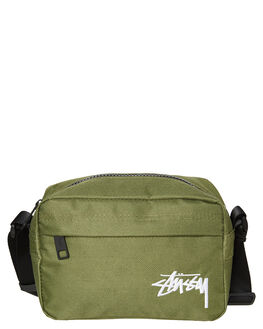 FLIGHT GREEN MENS ACCESSORIES STUSSY BAGS + BACKPACKS - ST796013FLTN