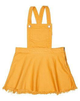 GOLDEN HONEY KIDS TODDLER GIRLS EVES SISTER DRESSES - 8010051YLW