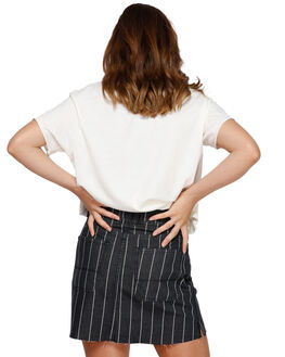 5f110783ad ... BLACK STRIPE WOMENS CLOTHING RVCA SKIRTS - RV-R491832-BAJ. RVCA 1 Rowdy  Mini Skirt