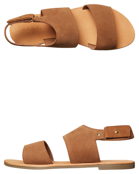 TAN WOMENS FOOTWEAR URGE FASHION SANDALS - URG17074TAN