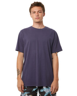 WASHED NAVY OUTLET MENS NO NEWS TEES - N5182005WSHNY