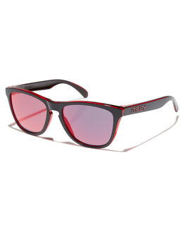ECLIPSE RED MENS ACCESSORIES OAKLEY SUNGLASSES - OO9013-A7ECRED