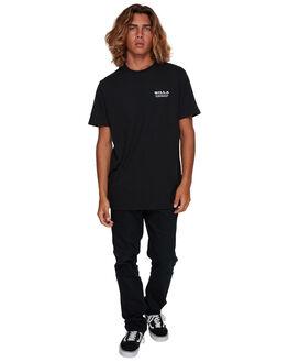 BLACK MENS CLOTHING BILLABONG TEES - BB-9591005-BLK