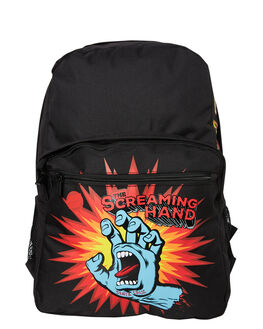 BLACK KIDS BOYS SANTA CRUZ BAGS + BACKPACKS - SC-YAD8148_BLK