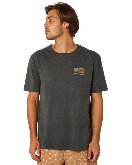 WASHED CHARCOAL MENS CLOTHING RHYTHM TEES - JAN19M-PT07-CHA