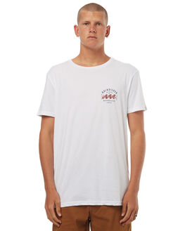 WHITE MENS CLOTHING QUIKSILVER TEES - EQYZT04497WBB0