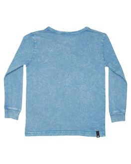 ACID BLUE KIDS BOYS MUNSTER KIDS TOPS - MK182TL05ABLU