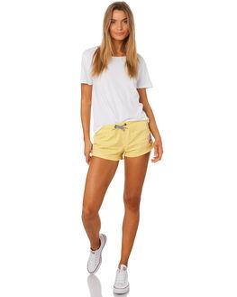 CHEDDAR WOMENS CLOTHING SANTA CRUZ SHORTS - SC-WBD7457CHED