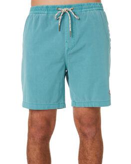 AQUA MIST MENS CLOTHING DEUS EX MACHINA BOARDSHORTS - DMP92176AAQMIS