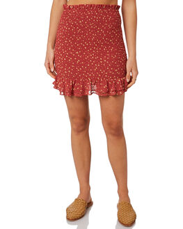 PRINT WOMENS CLOTHING LULU AND ROSE SKIRTS - LU23822PRNT
