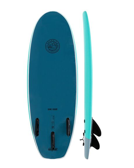 TORQ STEEL BOARDSPORTS SURF GNARALOO GSI SOFTBOARDS - GN-DUNE-TQST