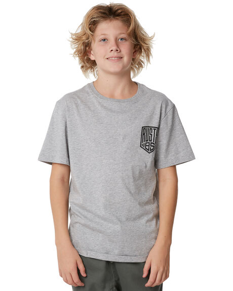 GREY MARLE KIDS BOYS RUSTY TEES - TTB0578GMA