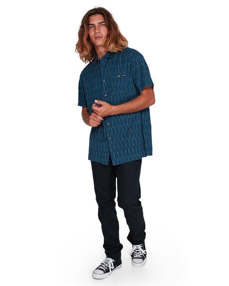 DARK INDIGO MENS CLOTHING BILLABONG SHIRTS - BB-9507204-D08