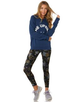 MID BLUE WOMENS CLOTHING THE UPSIDE ACTIVEWEAR - USW120018MDBLU
