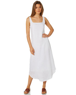 WHITE WOMENS CLOTHING ZULU AND ZEPHYR DRESSES - ZZ2324WHT