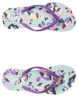 PASTEL BIRDS KIDS GIRLS REEF THONGS - A2YG5PLB