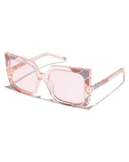 PINK ROSE GOLD WOMENS ACCESSORIES PARED EYEWEAR SUNGLASSES - PE1603PRPNKRS