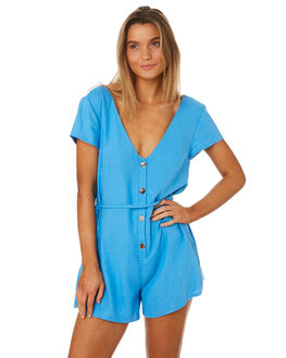 FRENCH BLUE WOMENS CLOTHING MLM LABEL PLAYSUITS + OVERALLS - MLM439CBLU