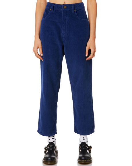 TWILIGHT BLUE WOMENS CLOTHING AFENDS PANTS - W181452TBLU