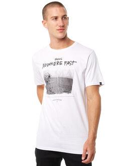 WHITE MENS CLOTHING MAYWOOD TEES - MTZ702WHITE