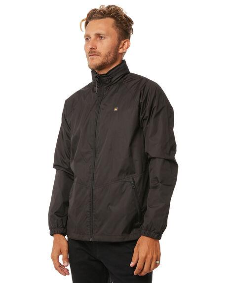 BLACK MENS CLOTHING QUIKSILVER JACKETS - EQMJK03011KVJ0