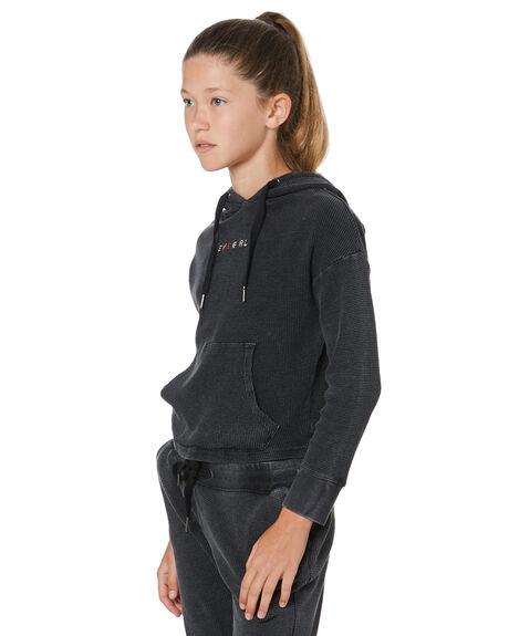 WASHED BLACK KIDS GIRLS EVES SISTER JUMPERS + JACKETS - 95X5028WBLK
