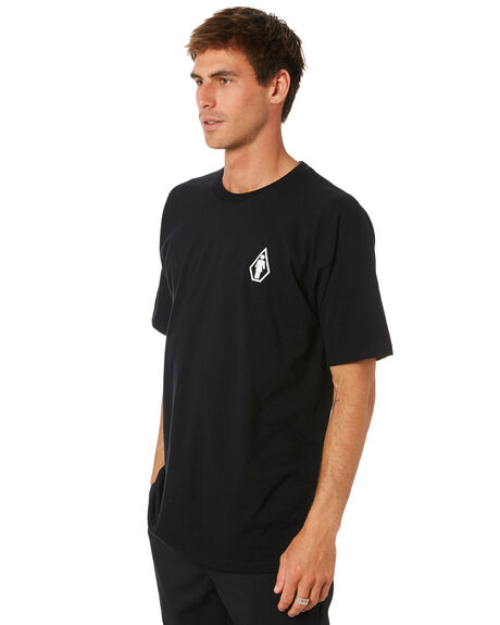 BLACK MENS CLOTHING VOLCOM TEES - A3532009BLK