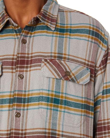 DEFENDER GREY MENS CLOTHING PATAGONIA SHIRTS - 53947DEFG