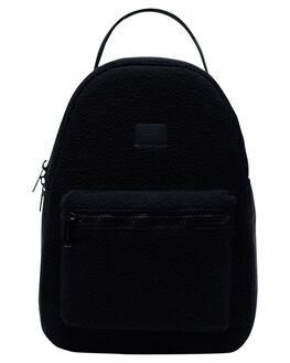 BLACK WOMENS ACCESSORIES HERSCHEL SUPPLY CO BAGS + BACKPACKS - 10502-03076-OSBLK