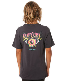 DARK GREY KIDS BOYS RIP CURL TOPS - KTEWX31221