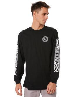 BLACK MENS CLOTHING SPITFIRE TEES - 52010016NBLK