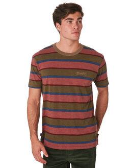 OLIVE BRICK MENS CLOTHING WRANGLER TEES - 901635MD5