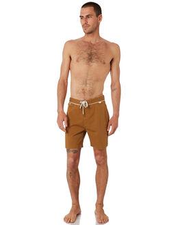 CAMEL MENS CLOTHING MCTAVISH BOARDSHORTS - MS-19BS-03CAM