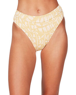 YELLOW FADE WOMENS SWIMWEAR BILLABONG BIKINI BOTTOMS - BB-6592705M-YLF