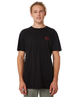 BLACK MENS CLOTHING SWELL TEES - S52011014BLACK