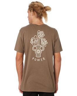 OLIVE MENS CLOTHING SWELL TEES - S52011018OLIVE