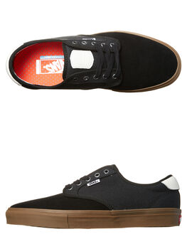 BLACK GUM MENS FOOTWEAR VANS SKATE SHOES - VN-08CFHYUBLK