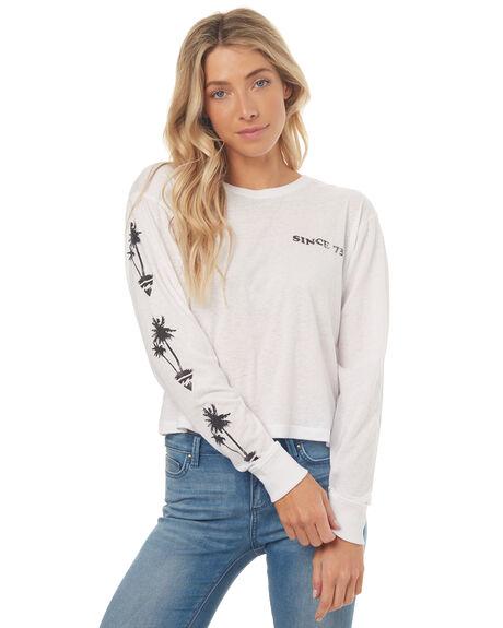 WHITE WOMENS CLOTHING BILLABONG TEES - 6572072WHT