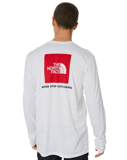 WHITE MENS CLOTHING THE NORTH FACE TEES - NF00CA0ELB1