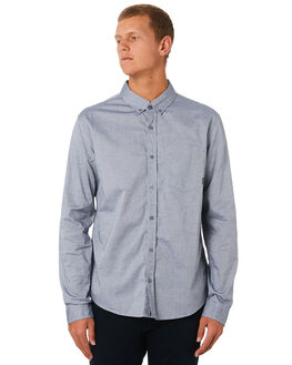 BLUE CHAMBRAY MENS CLOTHING SWELL SHIRTS - S5193173CHAMB