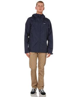 NAVY BLUE MENS CLOTHING PATAGONIA JACKETS - 83802NVNV