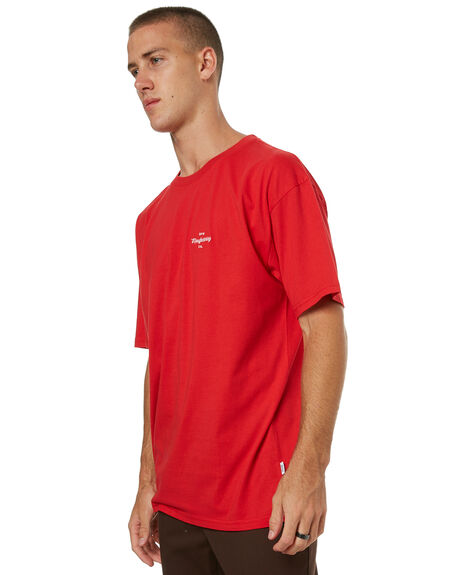 RED MENS CLOTHING RPM TEES - 7HMT02DRED