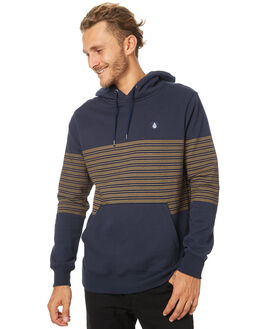 NAVY MENS CLOTHING VOLCOM JUMPERS - A4131703NVY