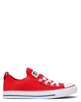 UNIVERSITY RED WOMENS FOOTWEAR CONVERSE SNEAKERS - 567026CURED