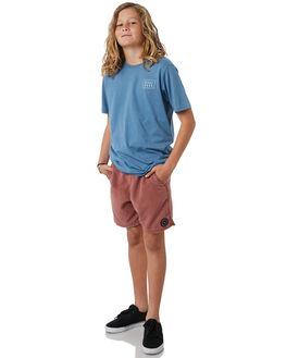 BURNT RED KIDS BOYS BILLABONG BOARDSHORTS - 8572439BURED