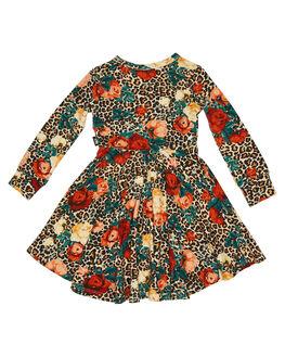 MULTI KIDS GIRLS ROCK YOUR KID DRESSES + PLAYSUITS - TGD2066-RLMULTI